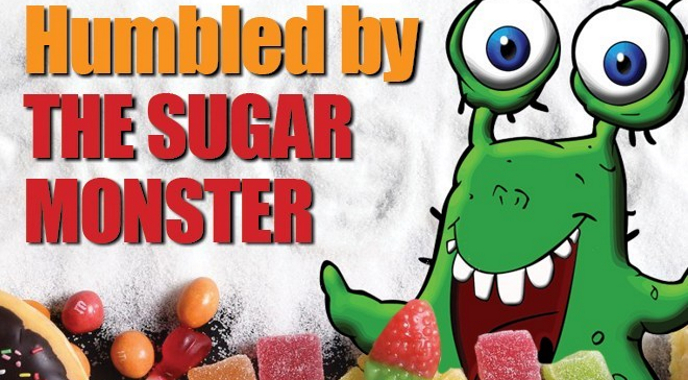 Humbled by the Sugar monster - Blog by The Mindfulness Poet